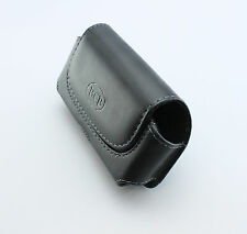 Leather Pouch Clip Carrying Holster Belt Loop (Fits with Hard Case on the phone)