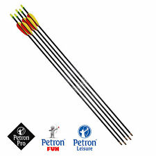 Fibreglass Arrows by Petron 26 inch, 28 inch, 30 inch All Sizes Hunting Archery