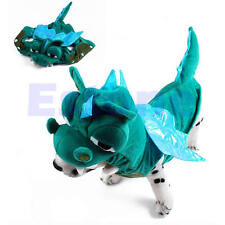 Funny Dinosaur Coat Dog Pet Clothes Halloween Costume Outfit