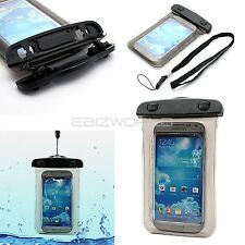 100% WATERPROOF BEACH BAG POUCH SMARTPHONE CASE SAND RESISTANT + SECURE SEAL