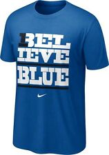 Kentucky Wildcats Believe Blue t-shirt Nike NWT UK CATS SEC new with tags