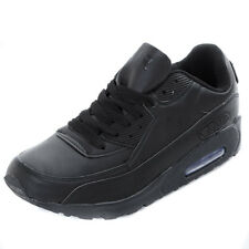 Boys Intercept  Air Max 90 Black Running Trainers Sports Shoes Boys Size