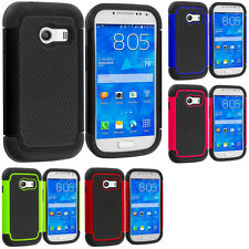 For Samsung Galaxy Ace Style Hybrid Rugged Shockproof Armor Hard Soft Case Cover