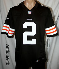 NIKE CLEVELAND BROWNS JOHNNY MANZIEL MENS XL FOOTBALL JERSEY SEWN LIMITED NFL