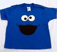 NEW Rabbit Skins Unisex Blue T Shirt Cookie Monster Size 4 and 7