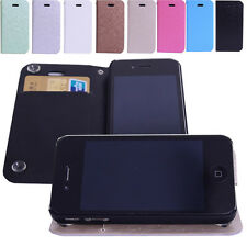 Special Sucker Folio Flip Leather Case Cover Stand For Samsung Note Apple iPhone