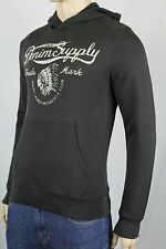 Denim & Supply Ralph Lauren Black Indian Motorcycle Hoodie Sweatshirt NWT