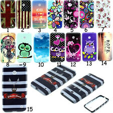 Rubber Gel TPU Soft Silicone Phone Back Skin Case Cover For Nokia Lumia 630 635