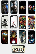 Handyhüllen iPhone 4/4S 5 5C 5S Galaxy S3 S4 Spiderman Batman Marvel Komik