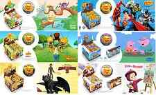 5 pcs. CHOCOLATE BALL EGG/MY LITTLE PONY,MONSTER HIGH,MASHA AND BEAR/WITH 3D TOY