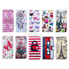 Multi-Color Leather ID Card Wallet Stand Magnet Fitted Cover Case Fr Smart Phone