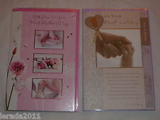 HAPPY 1ST MOTHER'S DAY CARD TRADITIONAL PHOTO INSERTED VERSES MUM MUMMY MOTHER
