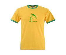 South Africa African Proteas Cricket Supporters T-Shirt - All Sizes Available