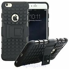 For Apple iPhone 6 Heavy Duty Hybrid Rugged Rubber Case Hard Cover Skin