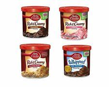 Betty Crocker Cake Cupcake Frosting Icing 2 Tubs