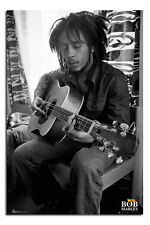 Bob Marley Guitar Large Wall Poster New - Maxi Size 36 x 24 Inch
