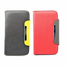 Flip Card Pouch Leather Case Cover For Samsung Galaxy Note II Note 2 N7100 i9220