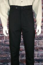 FRONTIER CLASSICS Brushed Twill Gunfighter Trousers Cowboy, Steampunk, Victorian