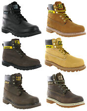 "NIB CAT Footwear Caterpillar Mens COLORADO Leather 6"" Boots MANY SIZES/CLRS AVA,"