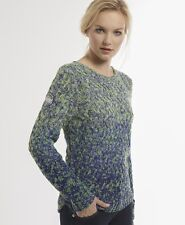 New Womens Superdry Orchard Crew Knit Jumper KDW