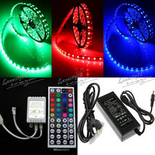300LED RGB 5M 5050 SMD LED Strip Flexible + 44Key IR Controller + 12V 5A Adapter