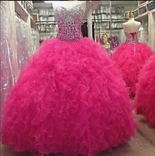 gorgeous Beaded Quinceanera Dresses Ball Gown Prom Pageant Dress Wedding dress