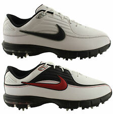 NIKE AIR RIVAL EU MENS LACE UP WATERPROOF GOLF SHOES COMFY AIR CUSHIONING SYSTEM