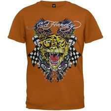 Ed Hardy - Tiger and Dragon Roar Tan Youth T-Shirt