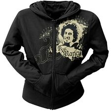 Bob Marley - Ink Blot Juniors Zip Up Hoodie