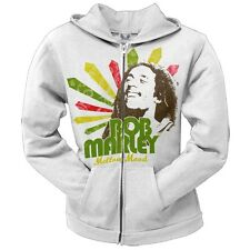 Bob Marley - Mellow Mood Juniors Zip Hoodie