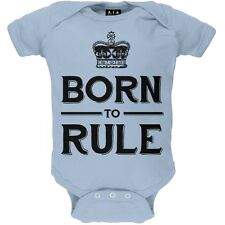 Prince George - Born to Rule Newborn Infant One Piece