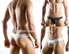 Clever 0001 mesh thong men's sexy underwear white or black