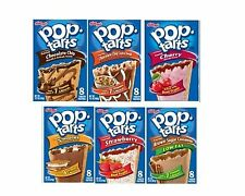 Kellogg's Pop Tarts Breakfast Snack Pastry 2 Boxes