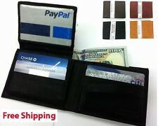 Men's Genuine Leather Bifold Wallet with ID Holder Handcrafted Leather Wallet