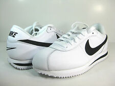 NIKE CORTEZ '07 LEATHER (GS) White/Black -315922 101- BOYS