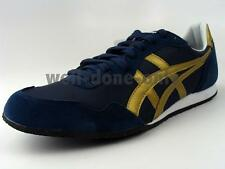 ASICS ONITSUKA TIGER Serrano navy blue gold white Japanese mens running shoes