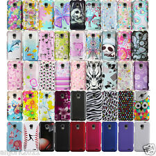 ZTE Mustang AT&T GoPhone Z998 Unico LTE Z930 Snap On Hard Case Design Cover