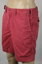 Polo Ralph Lauren Red Relaxed Fit Shorts Pony NWT