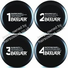 Beever Styling Products. No1 Paste, No2 Clay, No3 Putty, No4 Matt Paste. 100ml