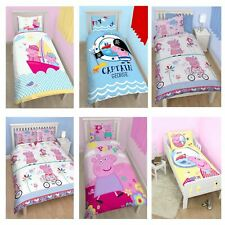 PEPPA PIG AND GEORGE BEDDING – SINGLE, DOUBLE & JUNIOR DUVET COVERS