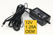 UL Listed 12V DC 1.25 Amp Power Supply Switch Adapter CCTV Security Camera lot