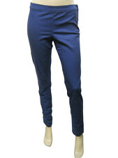 Womens H&M Trousers Slim Skinny Fit Soft Cotton Navy Size 4  to 18 Ladies C3