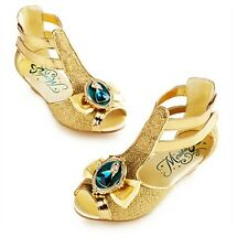 Disney Deluxe Brave Princess Merida Gold Girls Shoes Size 9/10 11/12 13/1