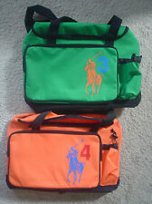 Polo Ralph Lauren Big Pony Sports Duffle Weekender Gym Travel Bag ~ New!