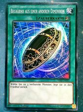 Yugioh Burial from a Different Dimension German  THSF-DE051  1st Super Rare Near