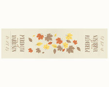 Personalized Autumn Fall Leaf Leaves Table Runner Wedding Table Decoration
