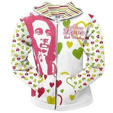 Bob Marley - One Love Juniors Zip Hoodie
