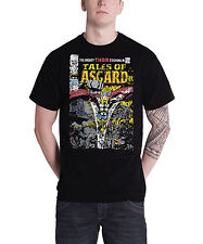 Marvel The Mighty Thor Tales of Asgard Official Mens Black T Shirt