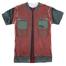 Back To The Future: Future Jacket Front Sublimated T-Shirt
