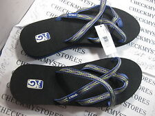 NIB New  TEVA Olowahu Sandals PREMIUM LUXURY SANDALS COMFORT DESIGN